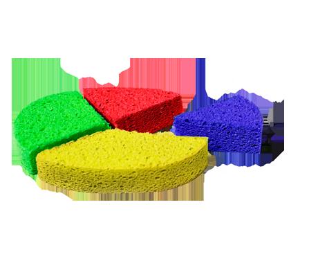 Pulizia a colori